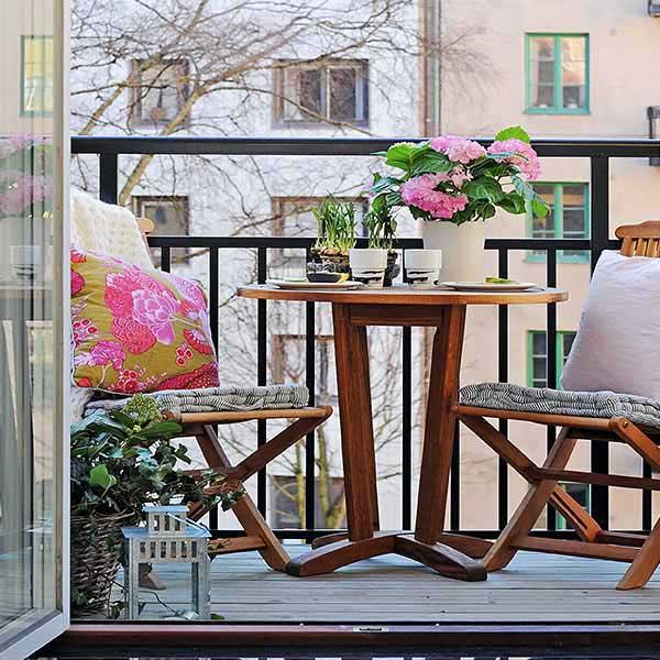 arredamento balcone