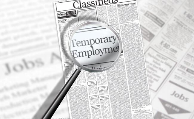 temporary jobs lavoro